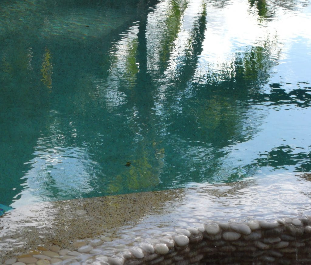 Villa Pool reflection copy